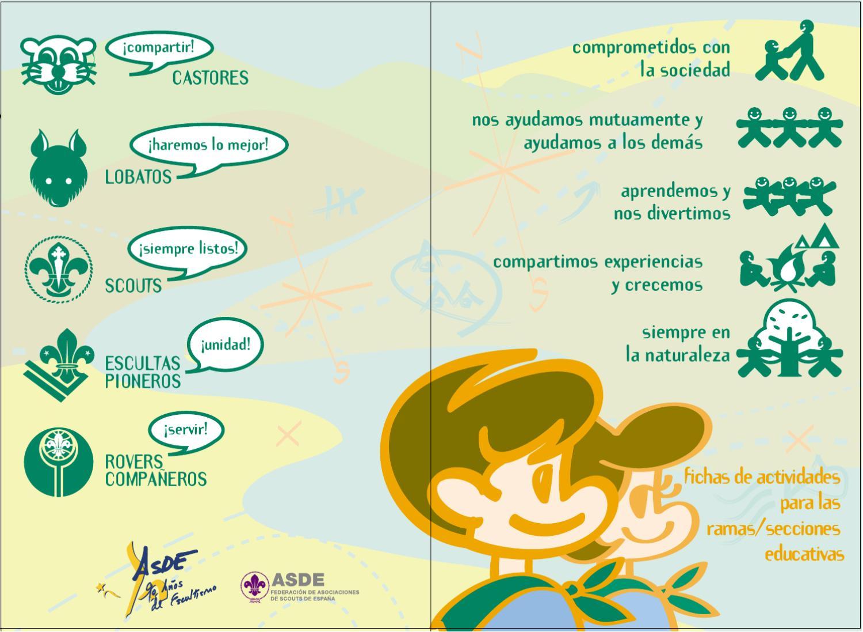 Carpeta De Fichas De Actividades By Asde Scouts De Espa A
