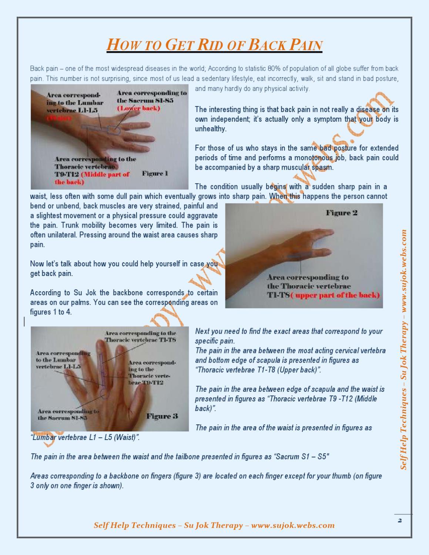 ISSUU - Su Jok Treatment for Back Pain by Mansur Kothia