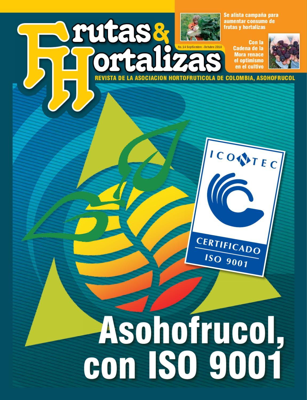 Frutas hortalizas edici n 14 by asohofrucol issuu for Asociacion de hortalizas