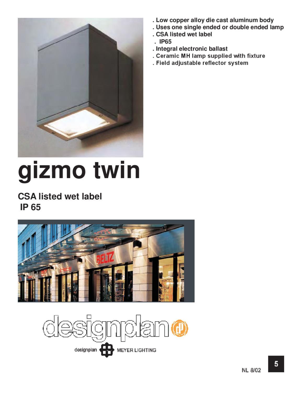 designplan lighting ltd. Gizmo Twin By Designplan Lighting Inc Issuu Ltd