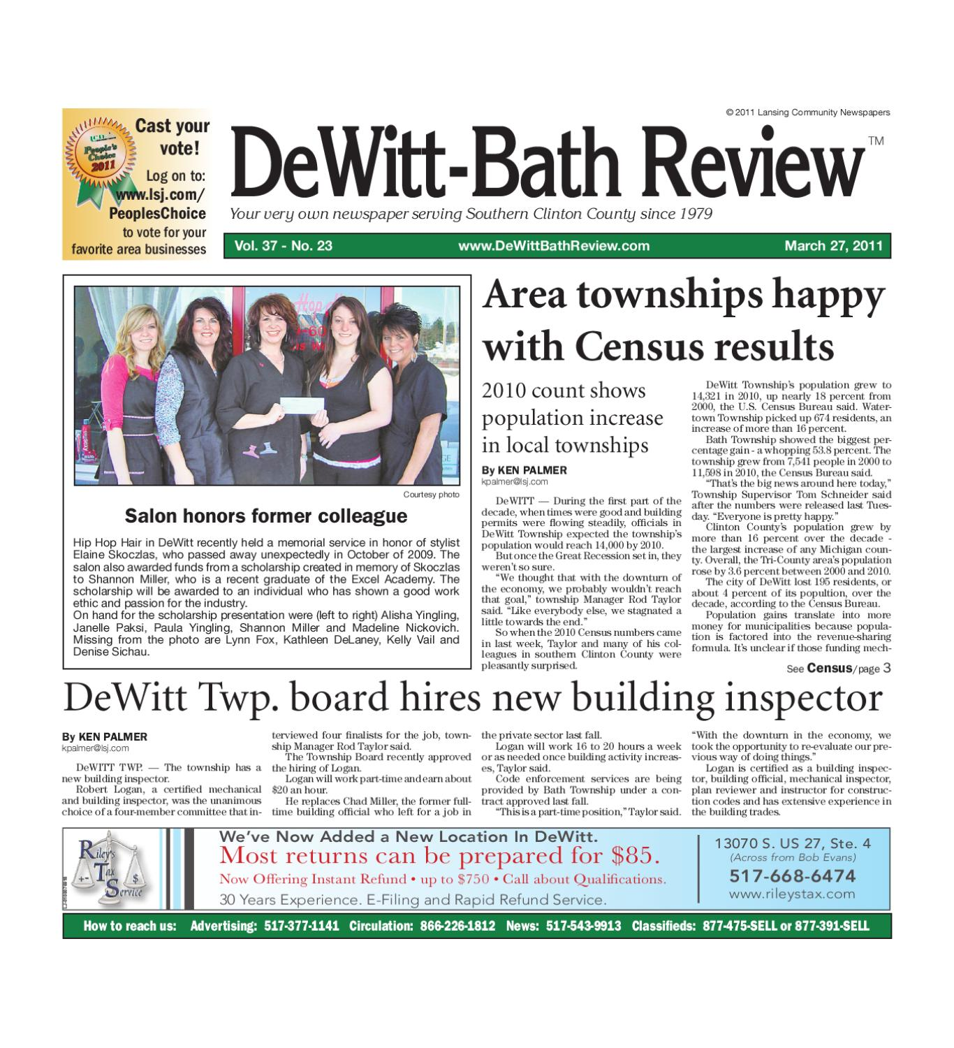 dewitt bath review by lansing state journal issuu
