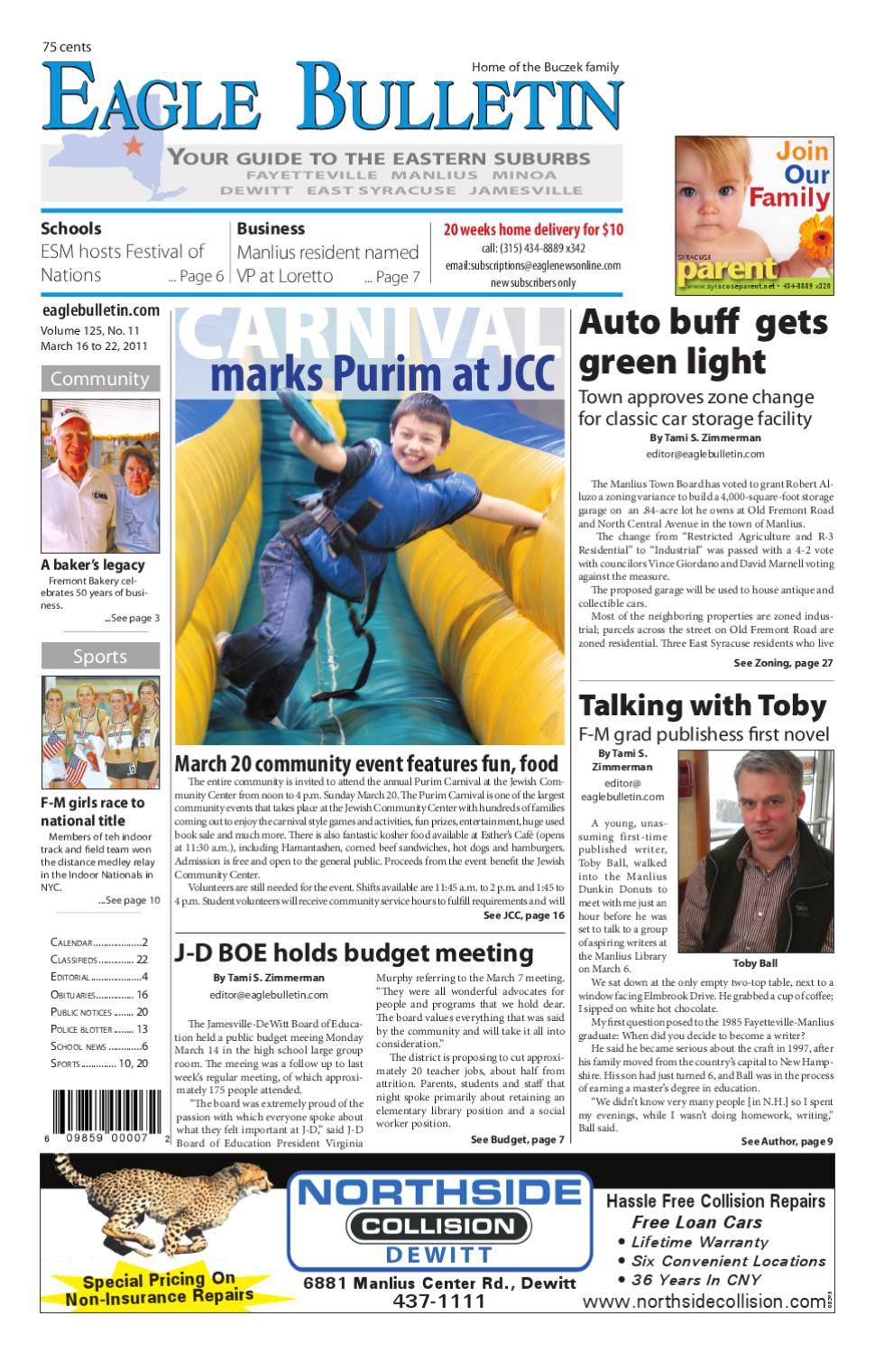 Eagle bulletin by eagle newspapers issuu for Green light motors fremont