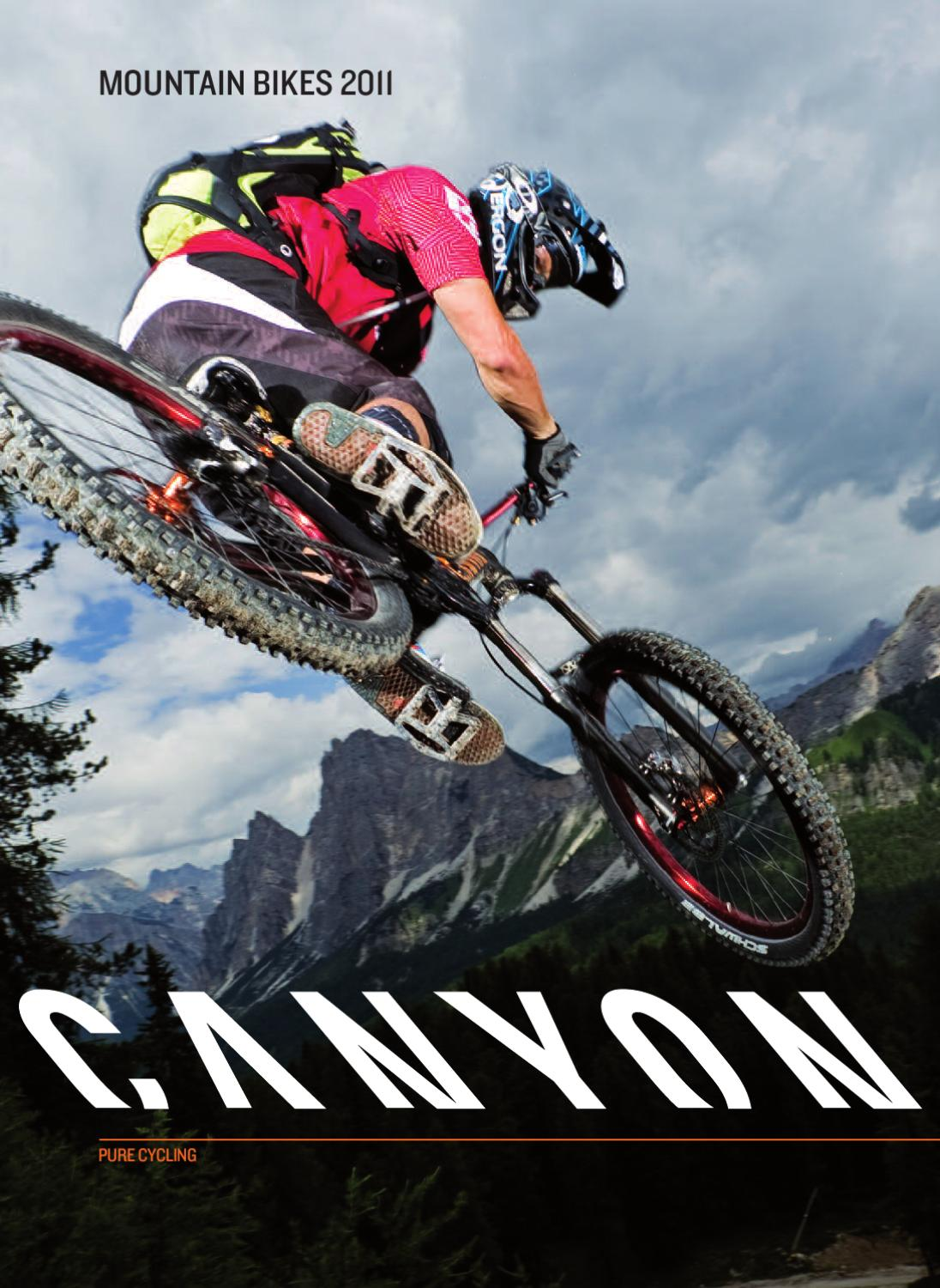 canyon mtb katalog 2011 by canyon bicycles gmbh issuu. Black Bedroom Furniture Sets. Home Design Ideas