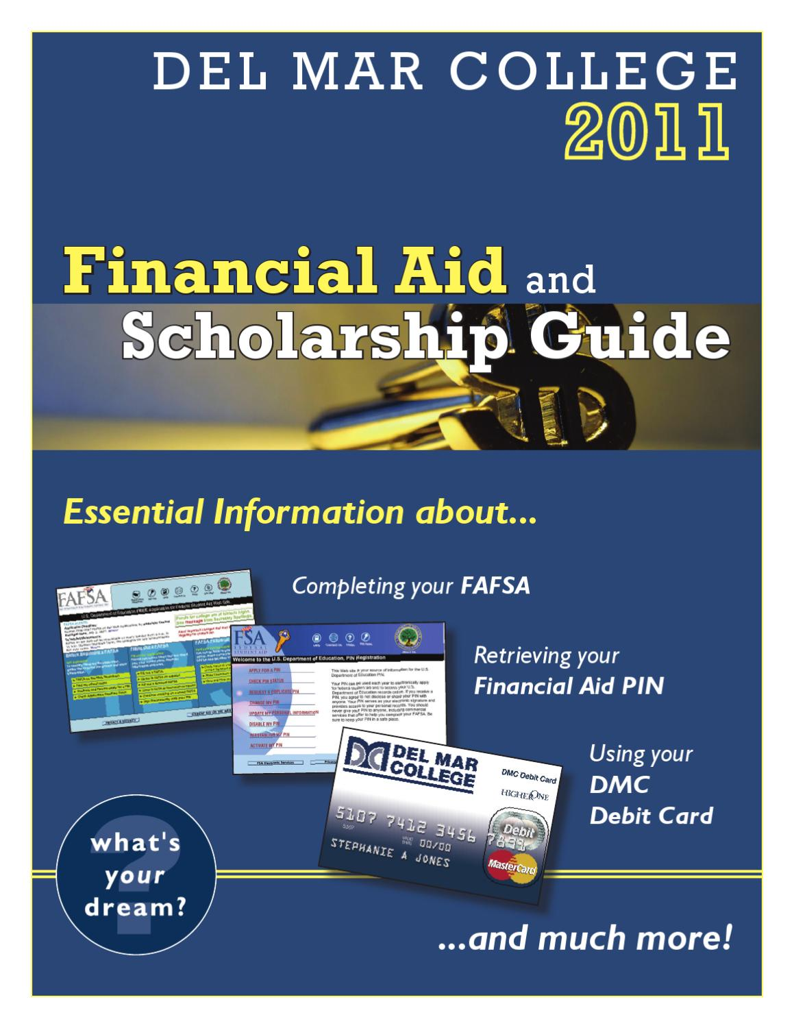 Financial Aid and Scholarship Guide by Del Mar College