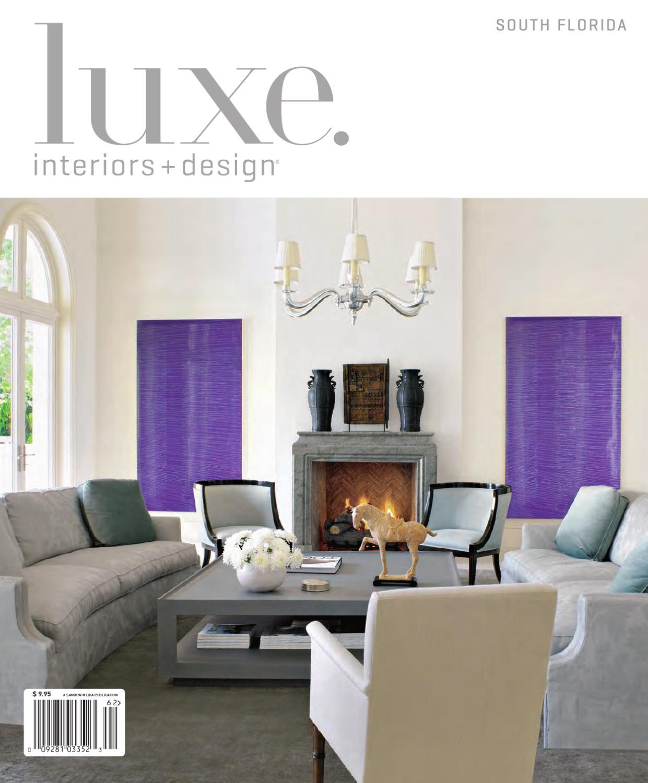 luxe interior design florida by sandow media issuu. Black Bedroom Furniture Sets. Home Design Ideas