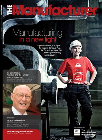 The Manufacturer April 2011 issue