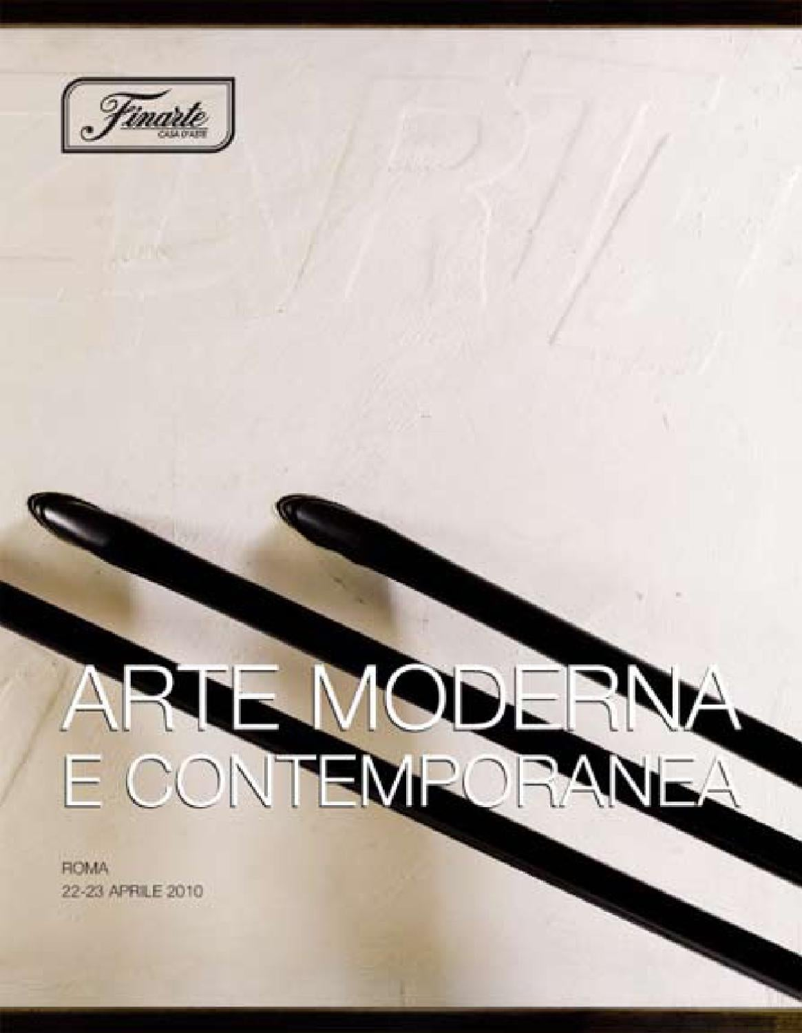 Arte moderna e contemporanea by web finarte - issuu