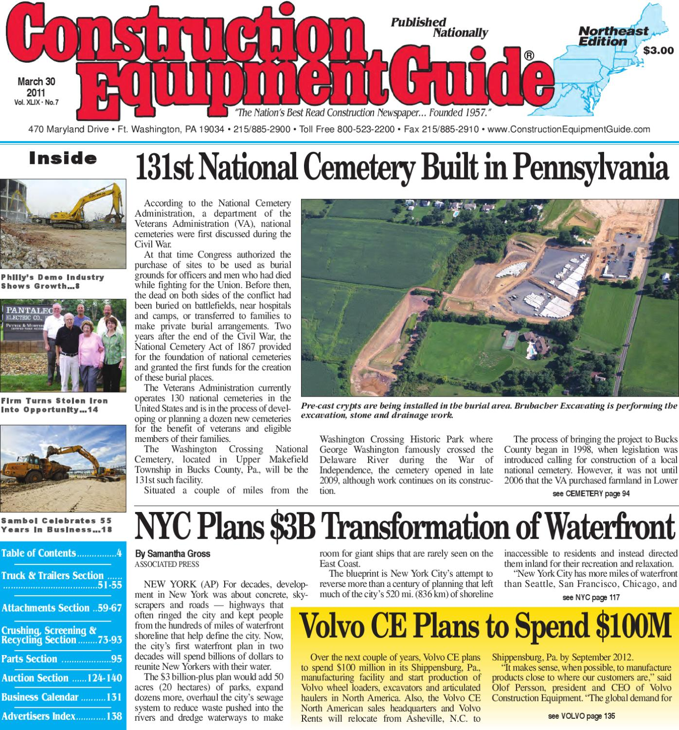 Northeast 102013 By Construction Equipment Guide Issuu