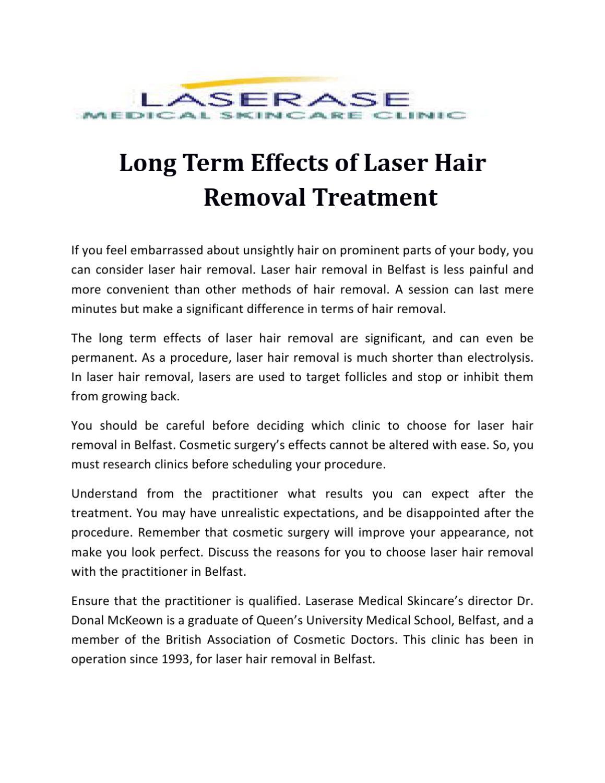 Effetti a lungo termine del trattamento di epilazione laser-3244