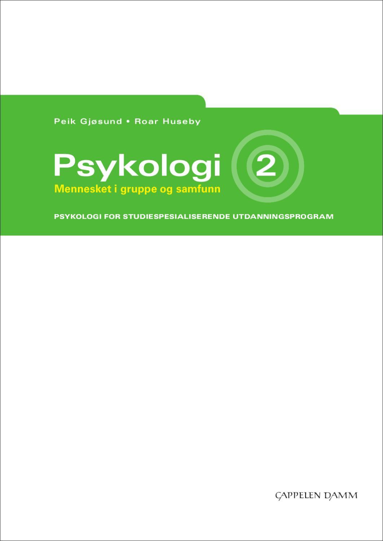 Cappelen damm psykologi 2