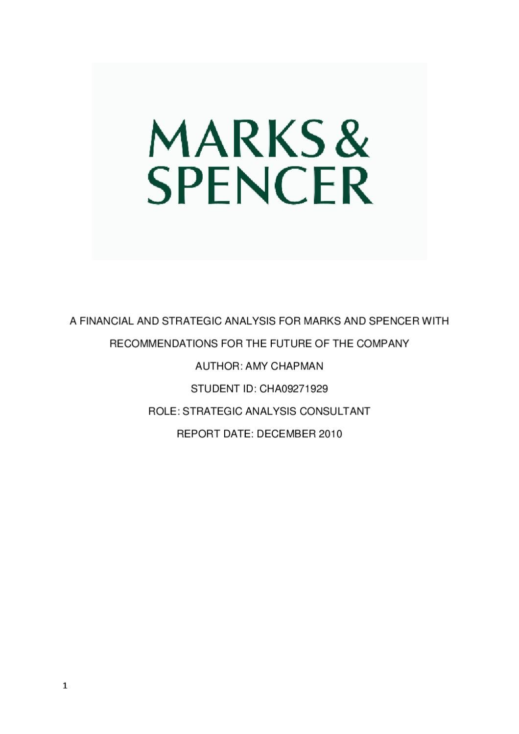 """marks and spencer financial principles Marks & spencer plc (""""m&s"""") had two basic claims against the customs and   the finance act 1997 introduced a new section 80 (4) of the value added tax  act  (case 8/81) [1982] ecr 53) and general principles of community law  could."""