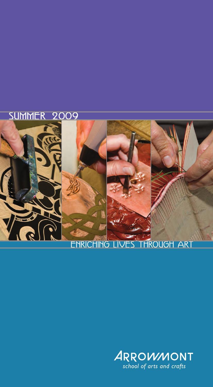 Summer 2009 workshop catalog for arrowmont school of arts for Arrowmont school of arts and crafts