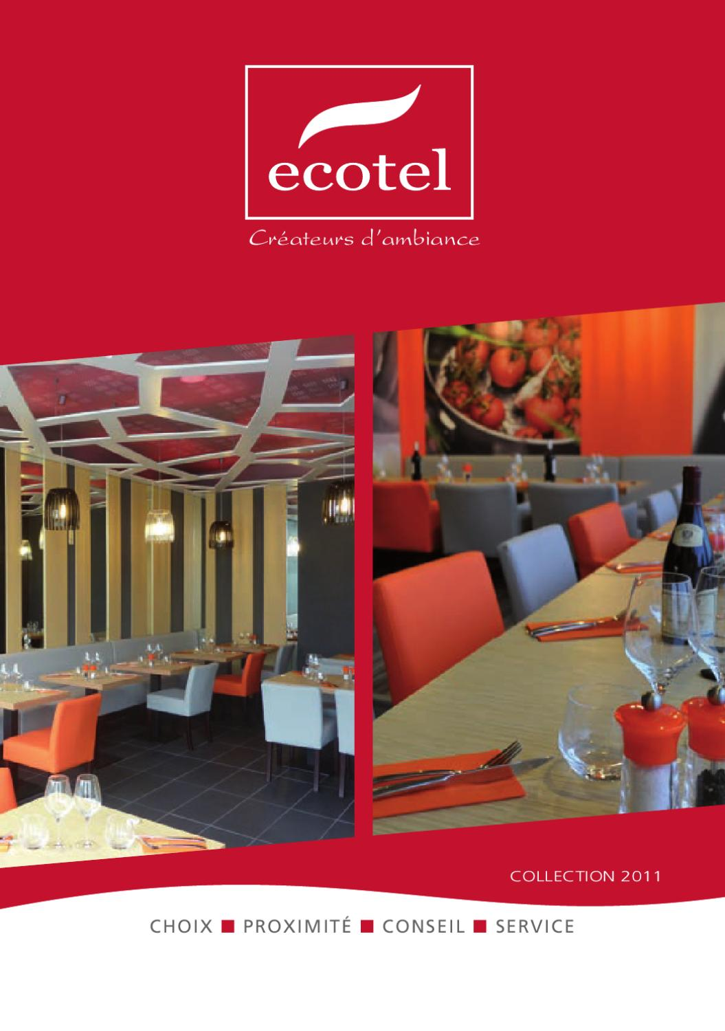 catalogue mobilier ambiance 2011 ecotel by ecotel sa issuu. Black Bedroom Furniture Sets. Home Design Ideas