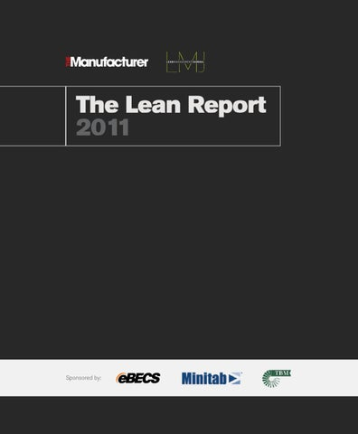 The Lean Report 2011