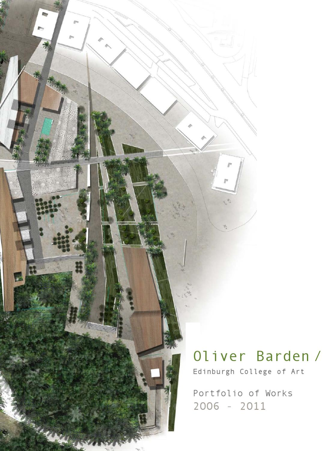 Oliver barden portfolio by oliver barden issuu for University of melbourne landscape architecture