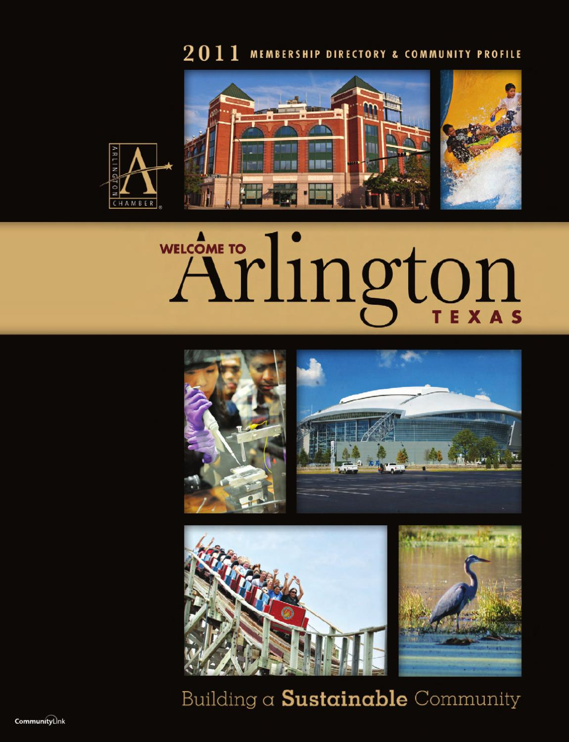 arlington tx membership directory and community profile by arlington tx 2011 membership directory and community profile