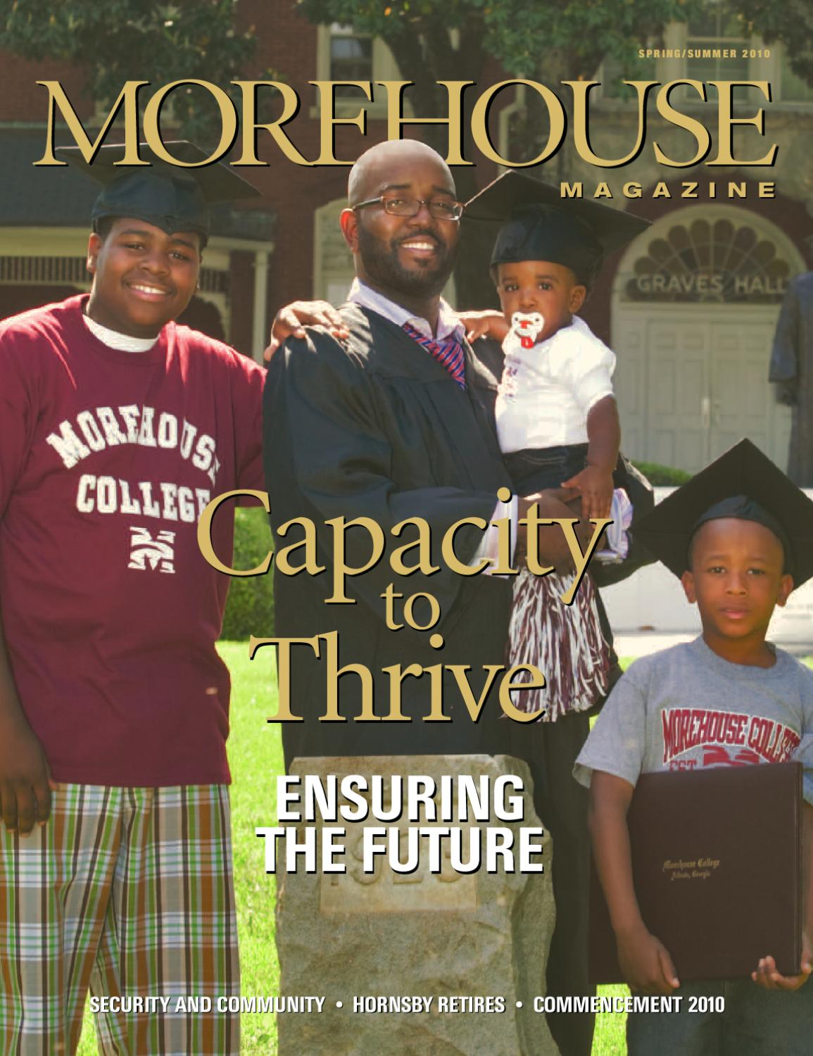 Morehouse Magazine Spring Summer 2010 By Morehouse College