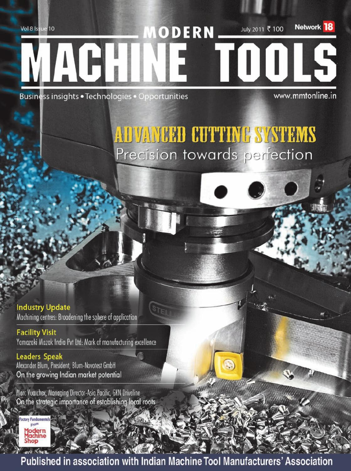 modern machine and tool