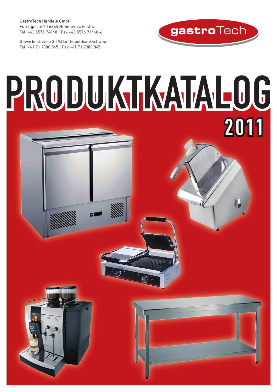 Gastrotech Katalog 2011 by Gregor Friedl - issuu