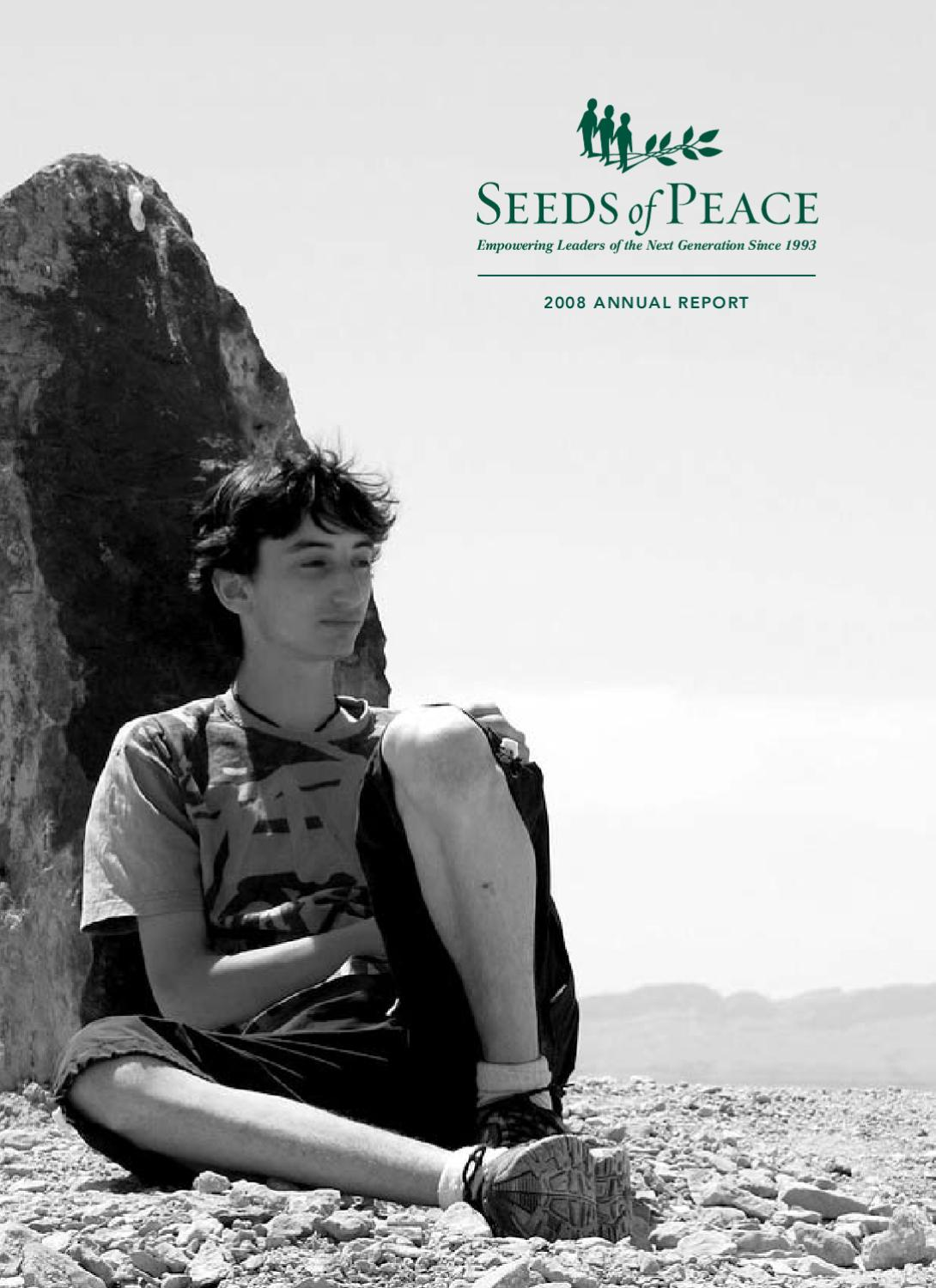 %annual%report by seeds of peace issuu 2008%20annual%20report by seeds of peace issuu