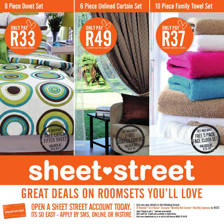 Sheet Street Homeset Catalogue By Mrpg Page 1 Issuu