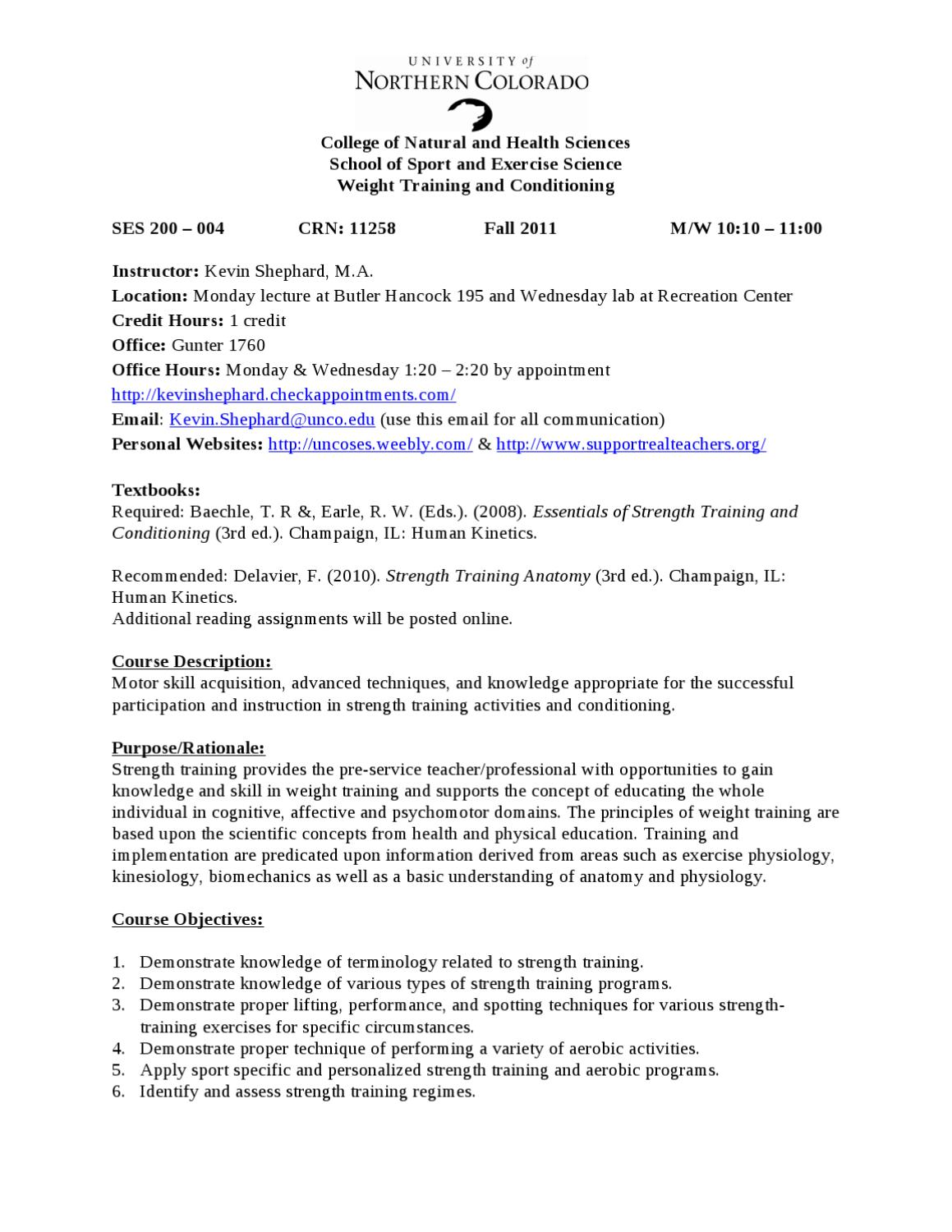 ses 200 syllabus by kevin shephard