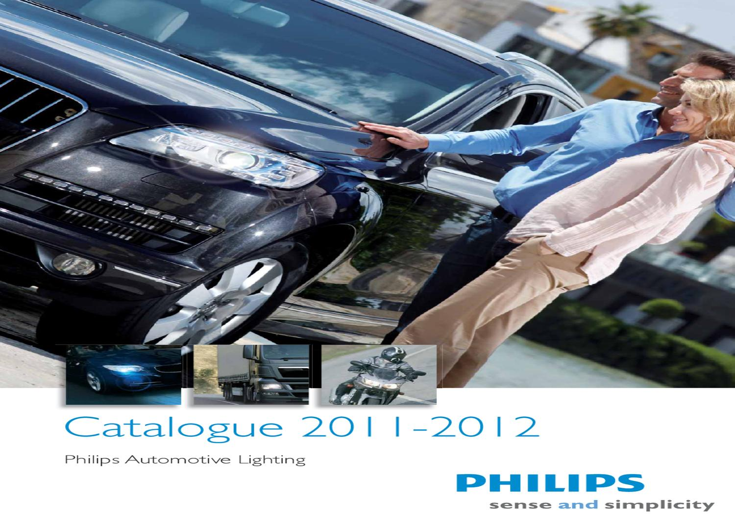 philips automotive lighting catalogue 2011 2012 eng by. Black Bedroom Furniture Sets. Home Design Ideas