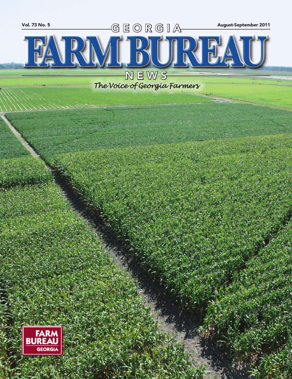 georgia farm bureau news august september 2011 issue by georgia farm bureau issuu. Black Bedroom Furniture Sets. Home Design Ideas