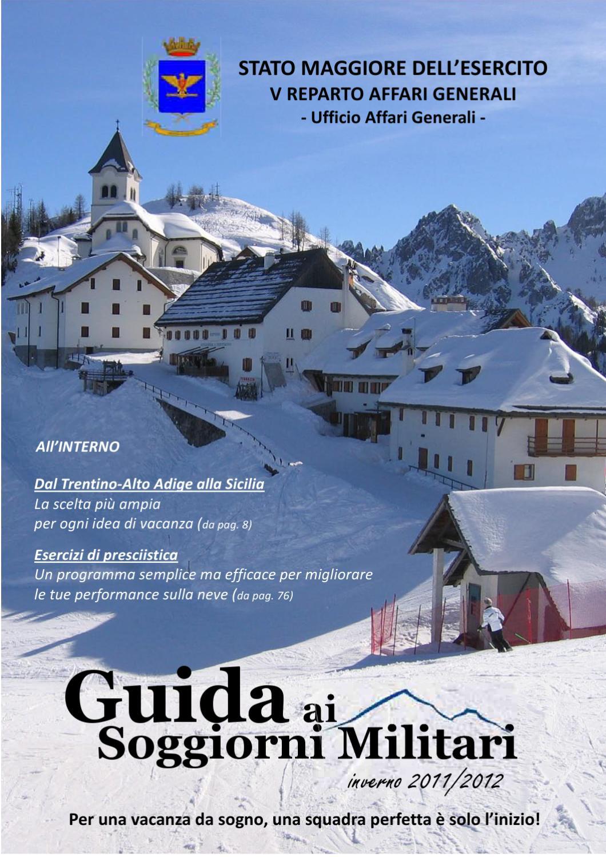 Guida ai soggiorni militari edizione invernale 2011/2012 ...