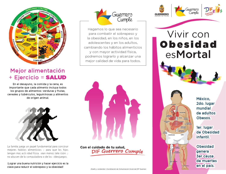 ¡Vivir con Obesidad es Mortal! by portal guerrero - issuu