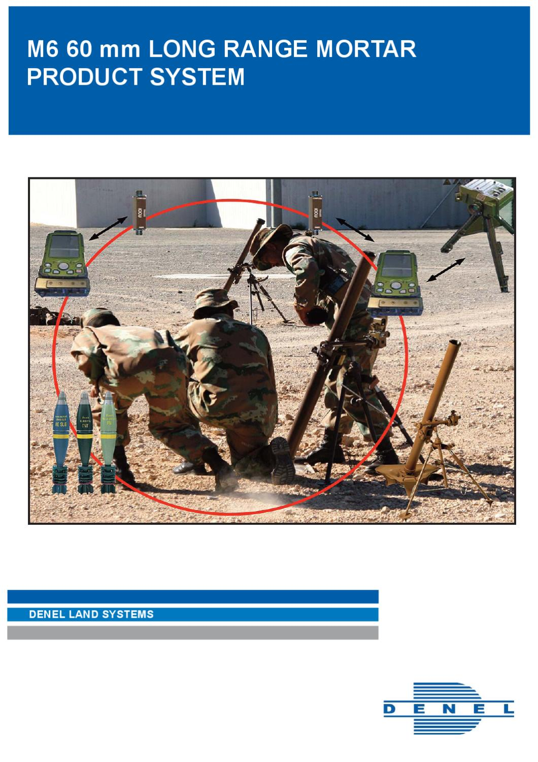 Mortar Fire Control System : M mm long range mortarproduct system by erika venter