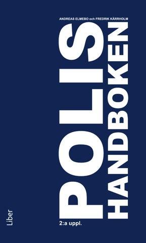 Polishandboken av Fredrik Kärrholm d282631d57b3f