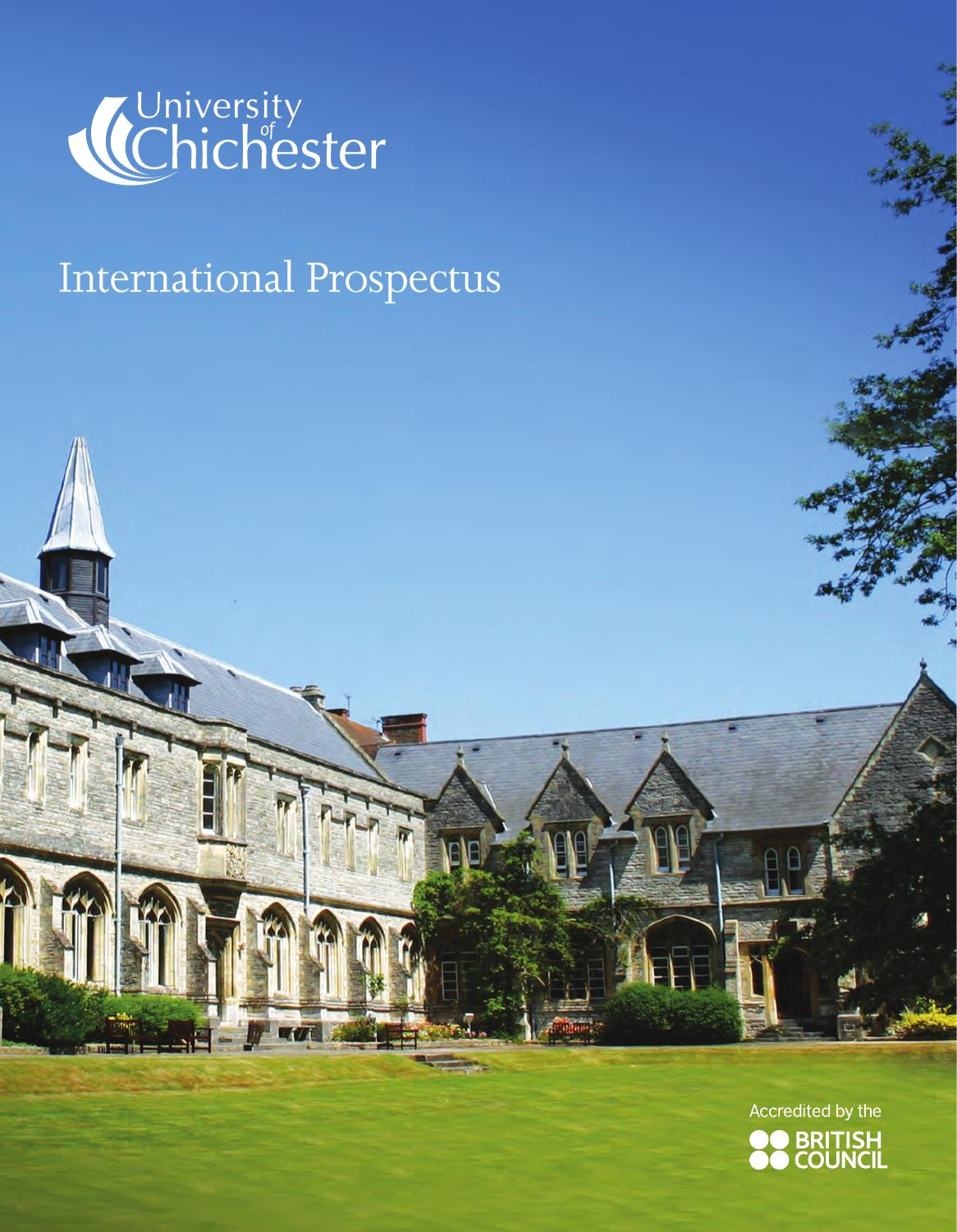 international prospectus by university of chichester issuu. Black Bedroom Furniture Sets. Home Design Ideas