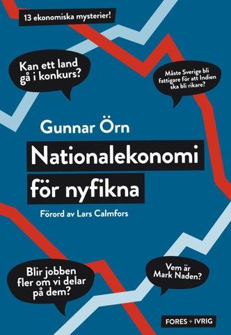 Nationalekonomi för nyfikna av Gunnar Örn - Provläs boken gratis online! 49e3f05117864