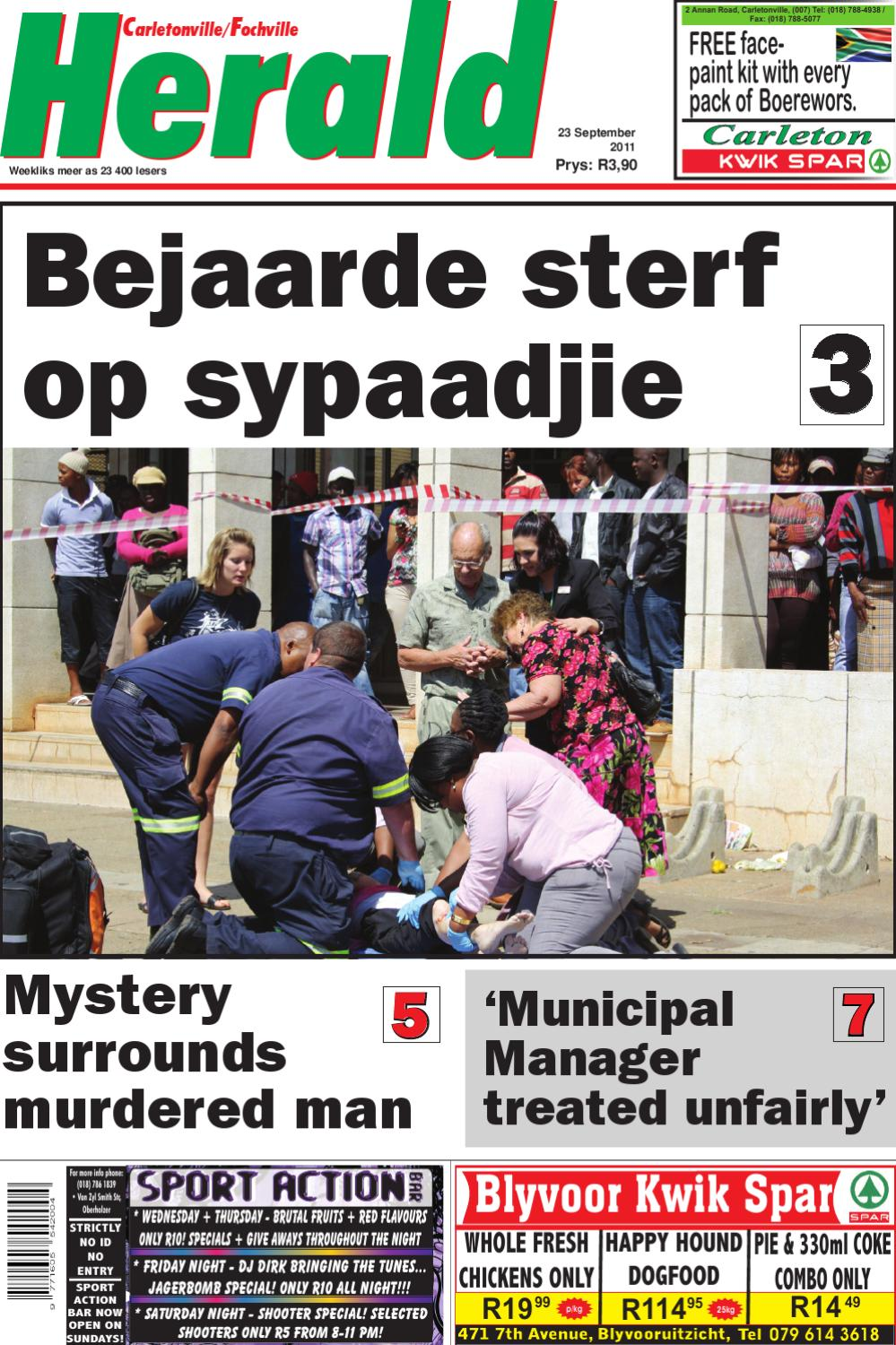 Carletonville Herald 14 September 2012 by Carletonvilleherald - issuu
