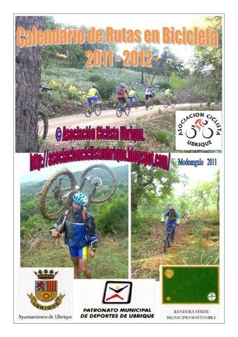 Calendario de rutas en bicicleta de montaña 2011-2012