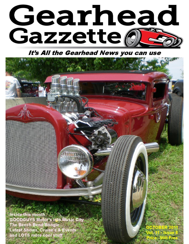 October 2011 Gearhead Gazzette By Jimmy B Issuu