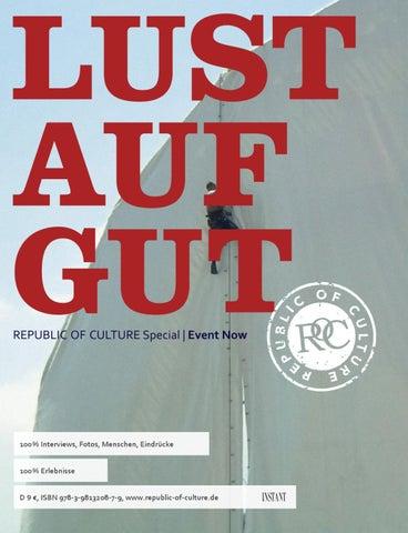 LUST AUF GUT Magazin   Special: Event Now
