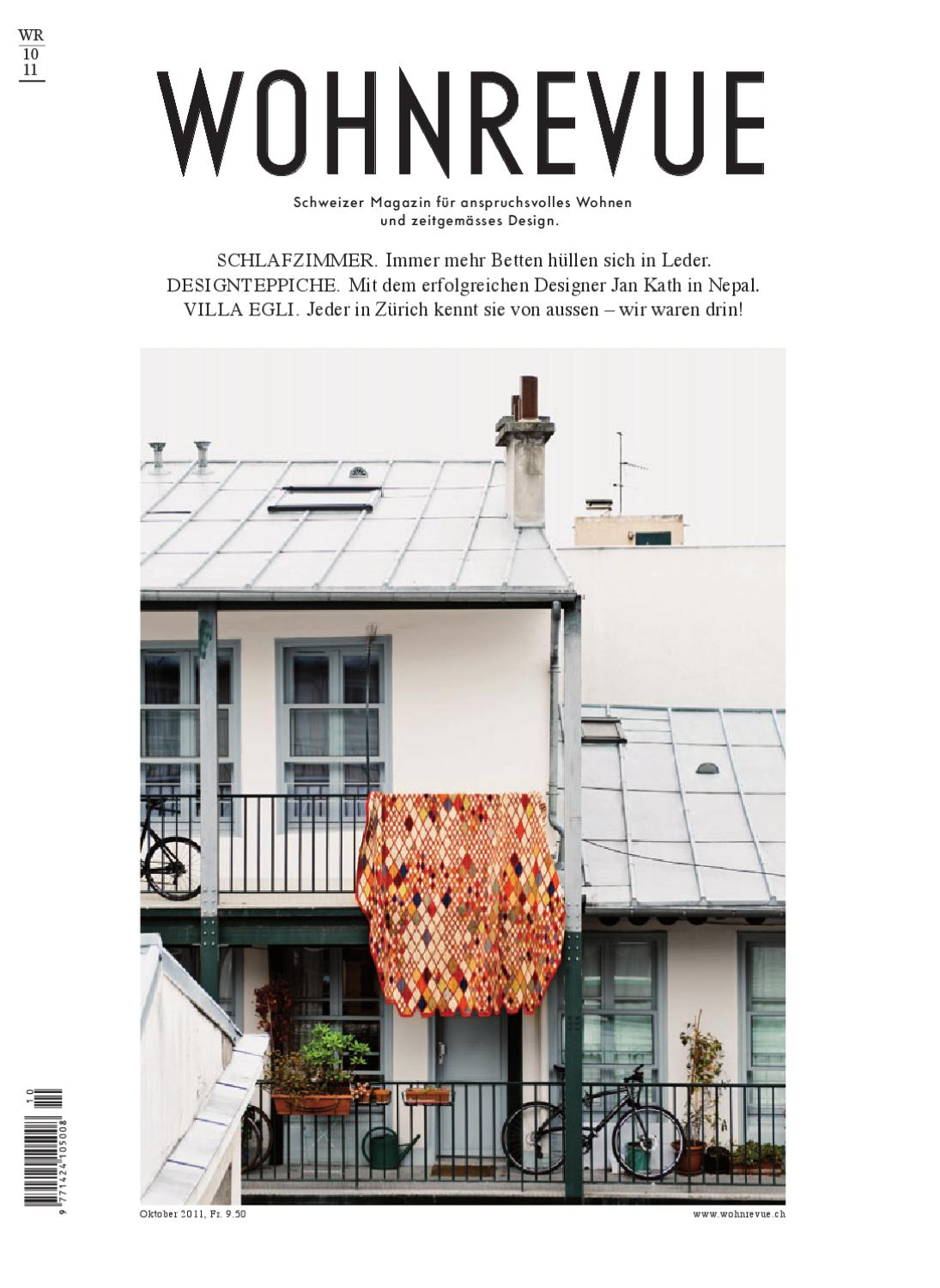 wohnrevue 10 2011 by boll verlag issuu. Black Bedroom Furniture Sets. Home Design Ideas
