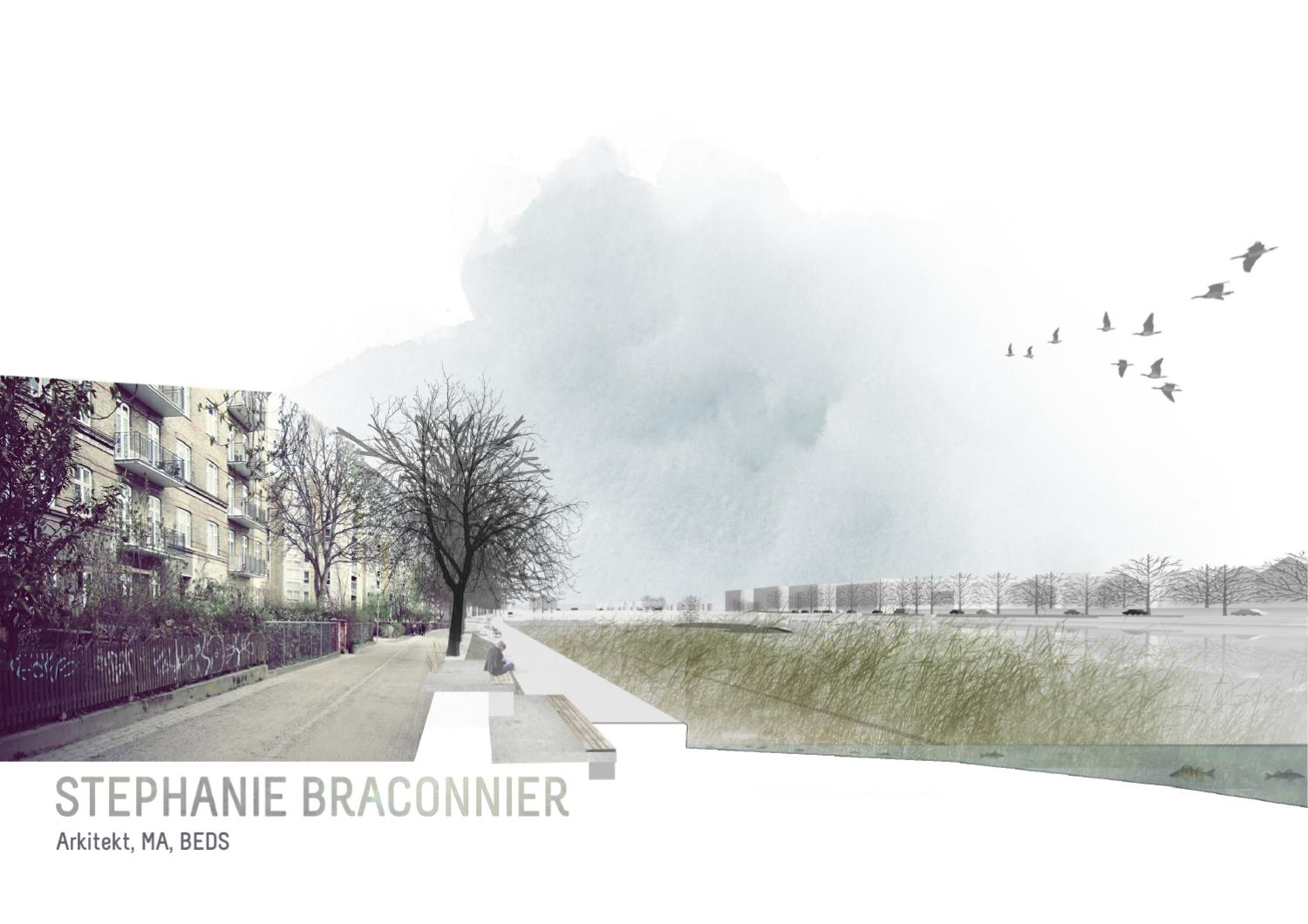 Stephanie braconnier architecture portfolio 2011 by for Garden design portfolio