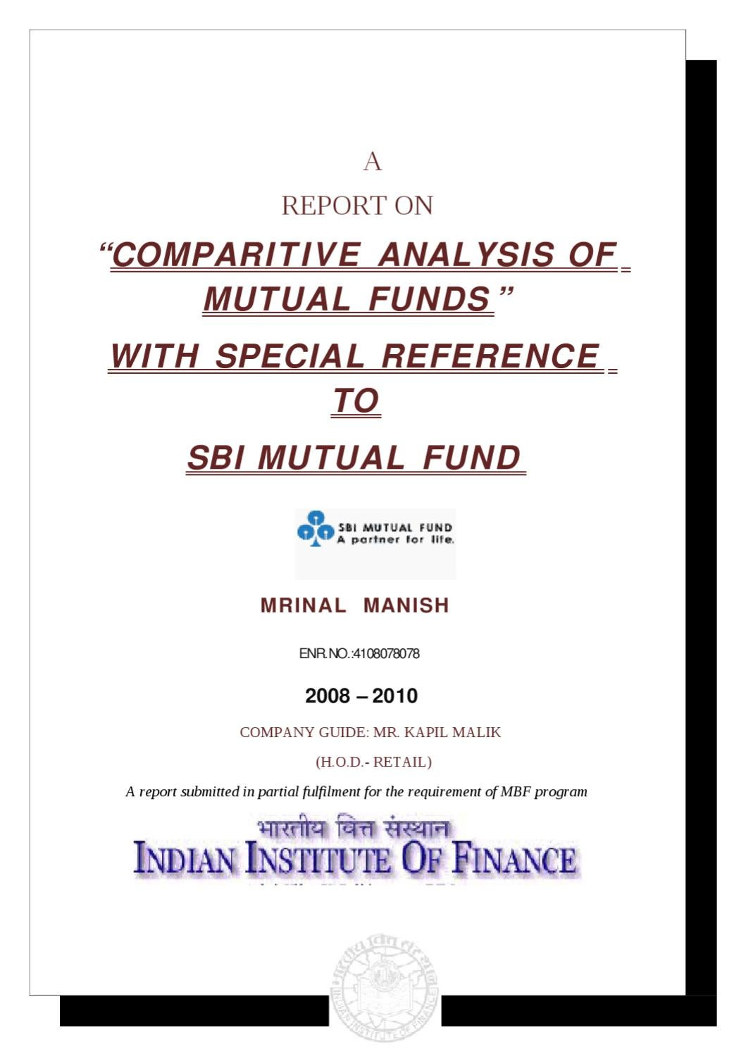 thesis on mutual fund in india What's the difference between a mutual fund and a hedge fund share  most investors can invest in a mutual fund mutual funds are liquid and can be.