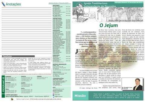 Informativo 06-11-2011