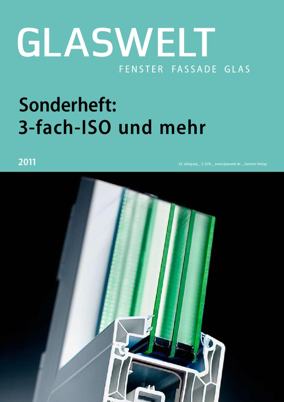 glaswelt sonderheft 3 fach iso und mehr by alfons w. Black Bedroom Furniture Sets. Home Design Ideas