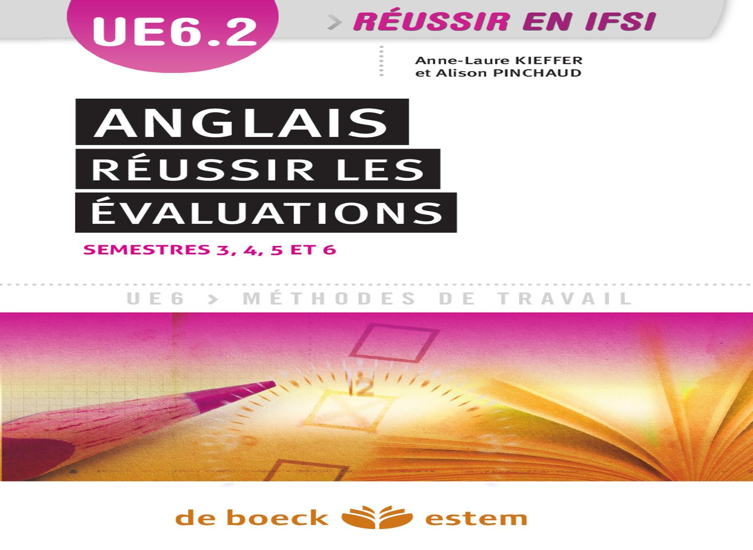 ue6 2 anglais r u00e9ussir les  u00e9valuations by groupe de boeck