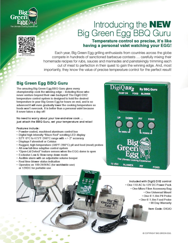 Big Green Egg BBQ Guru by Big Green Egg issuu #117643