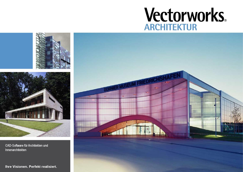 vectorworks architektur prospekt by computerworks gmbh issuu. Black Bedroom Furniture Sets. Home Design Ideas