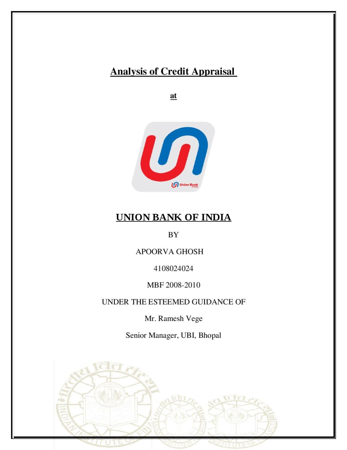 Union bank of india forex recruitment
