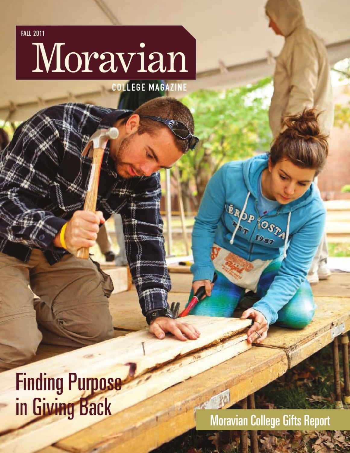Moravian College Magazine Fall 2011 By Moravian College