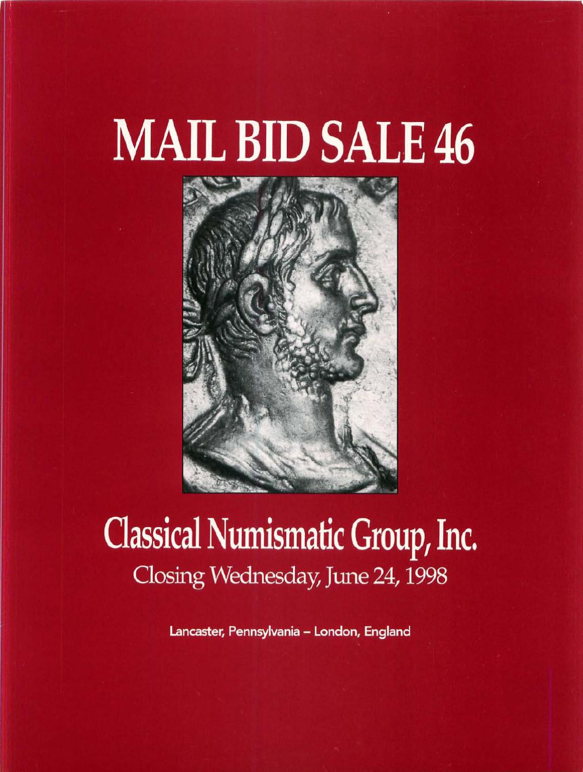 CNG 51 by Classical Numismatic Group Inc. issuu