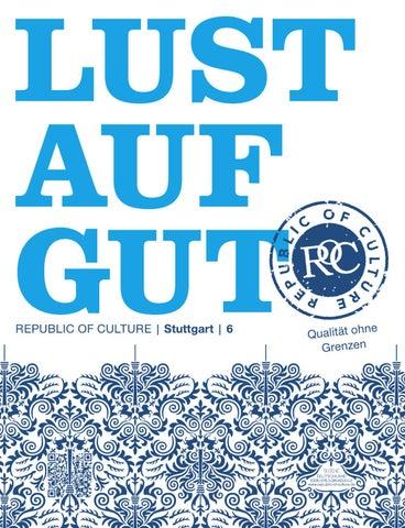 LUST AUF GUT Magazin | Stuttgart Nr. 6
